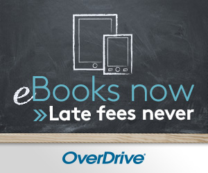 Overdrive, electronic books and audiobooks.
